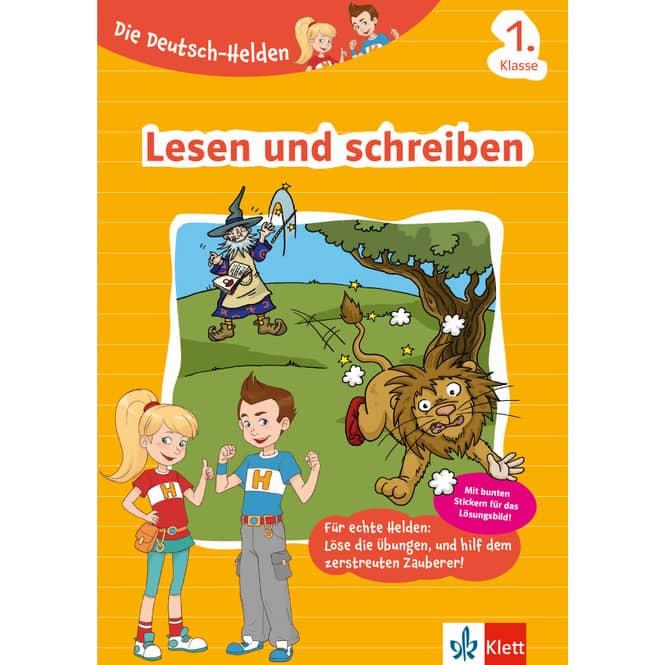 Lesen und schreiben - 1. Klasse - Die Deutsch-Helden