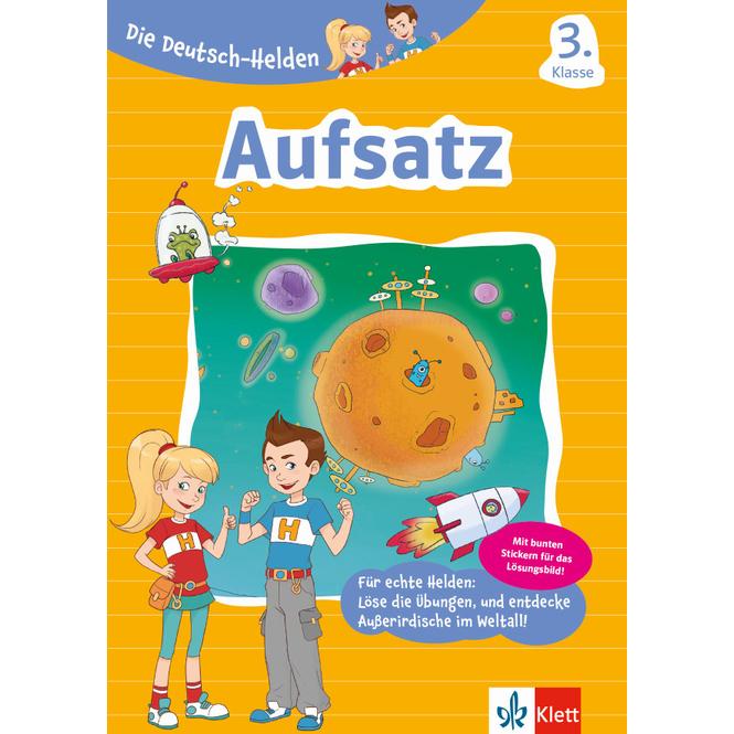 Aufsatz 3. Klasse - Die Deutsch-Helden