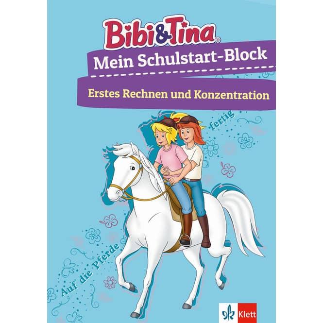 Bibi & Tina - Mein Schulstart Block - Erstes Rechnen und Konzentration