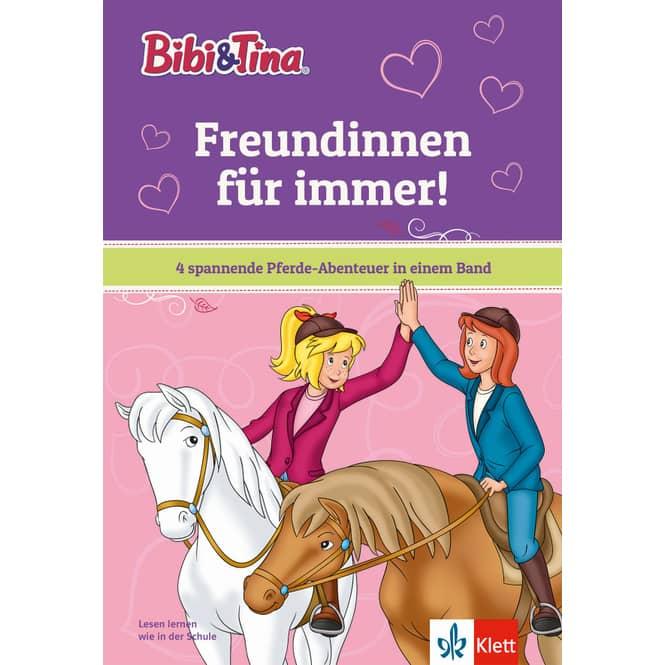 Bibi & Tina - Freundinnen für immer! - 4 spannende Pferde-Abenteuer in einem Band
