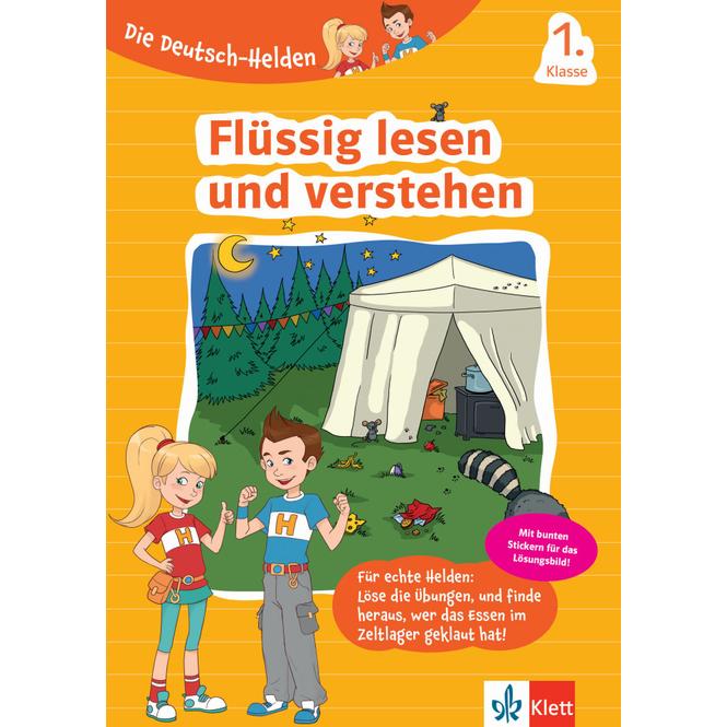 Flüssig lesen und verstehen - 1. Klasse - Die Deutsch-Helden