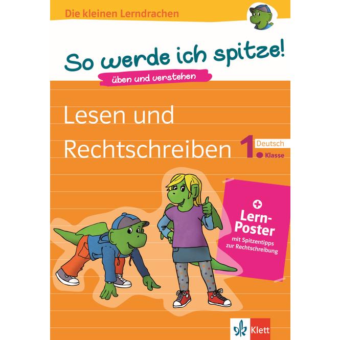 Lesen und Rechtschreiben - Die kleinen Lerndrachen - 1.Klasse Deutsch