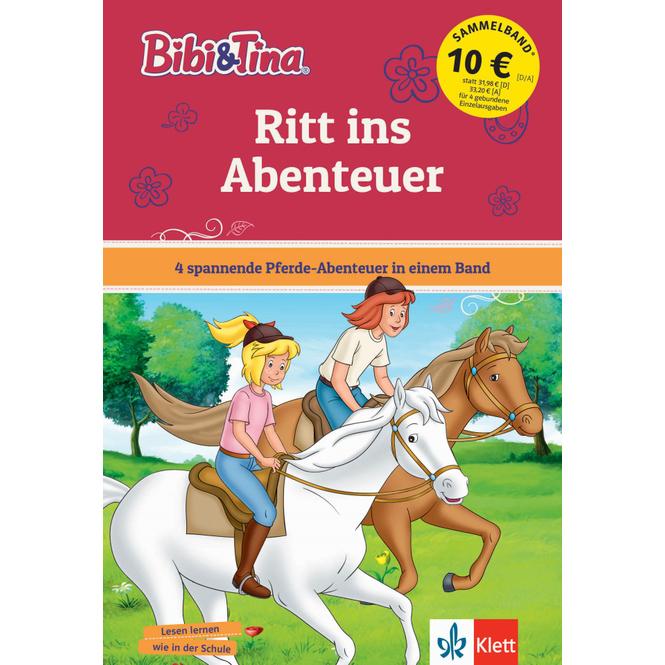 Bibi und Tina - Ritt ins Abenteuer - 4 spannende Pferde-Abenteuer in einem Band