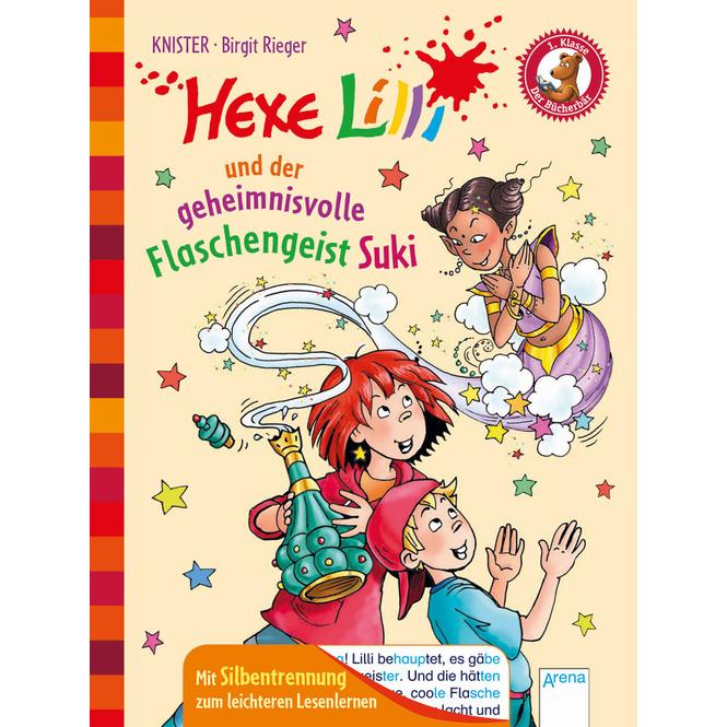 Hexe Lilli und der geheimnisvolle Flaschengeist Suki - Silbenlesen