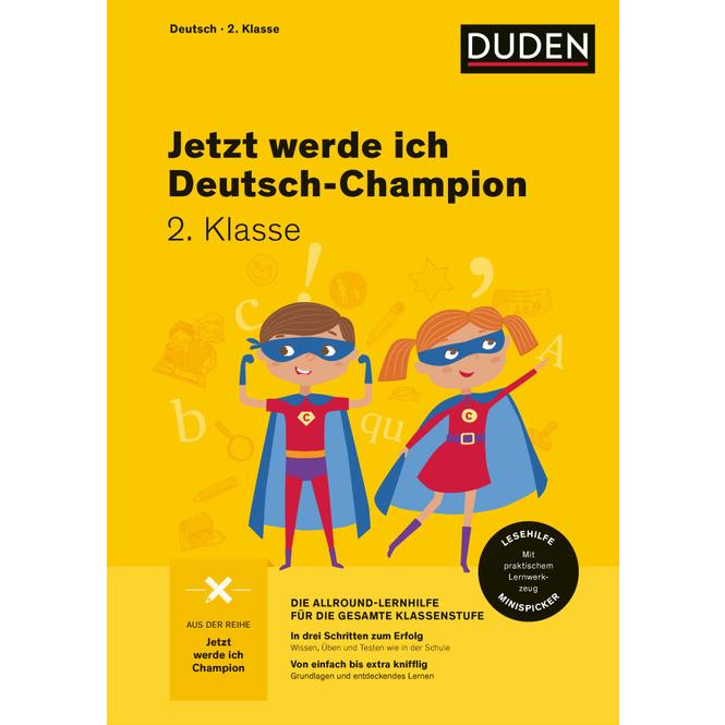 Jetzt werde ich Deutschchampion - Deutsch 2. Klasse