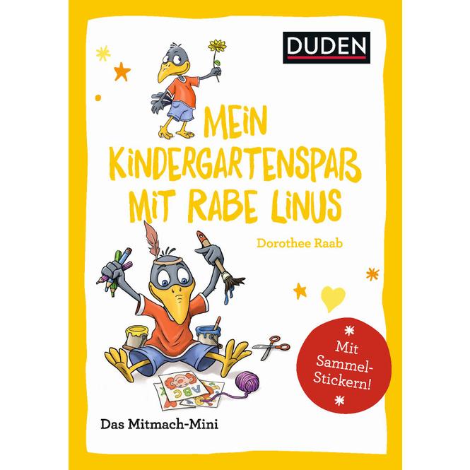 DUDEN -Mein Kindergartenspaß mit Rabe Linus - Das Mitmach-Mini