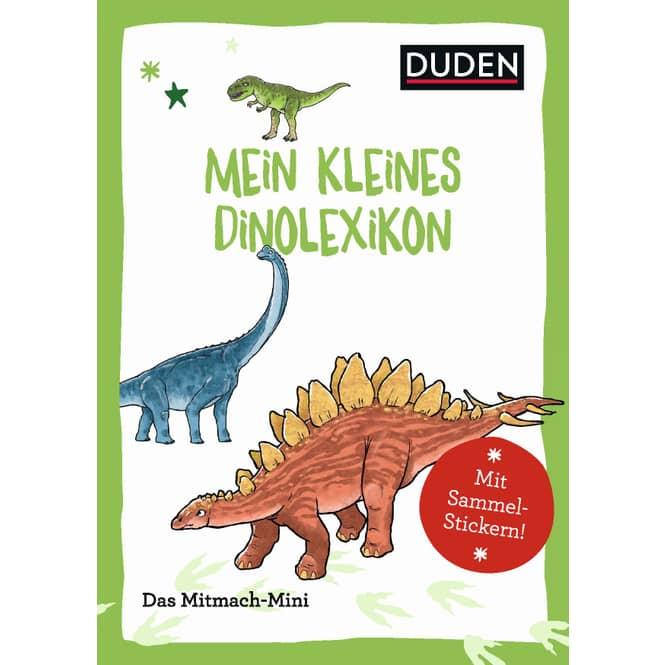 DUDEN -Mein kleines Dinolexikon - Das Mitmach-Mini