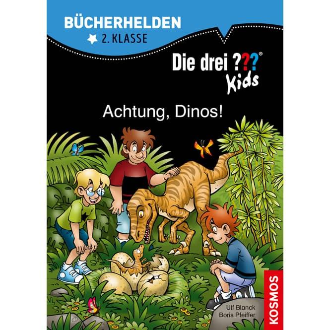 Bücherhelden -  Die drei ??? Kids - Achtung, Dinos!