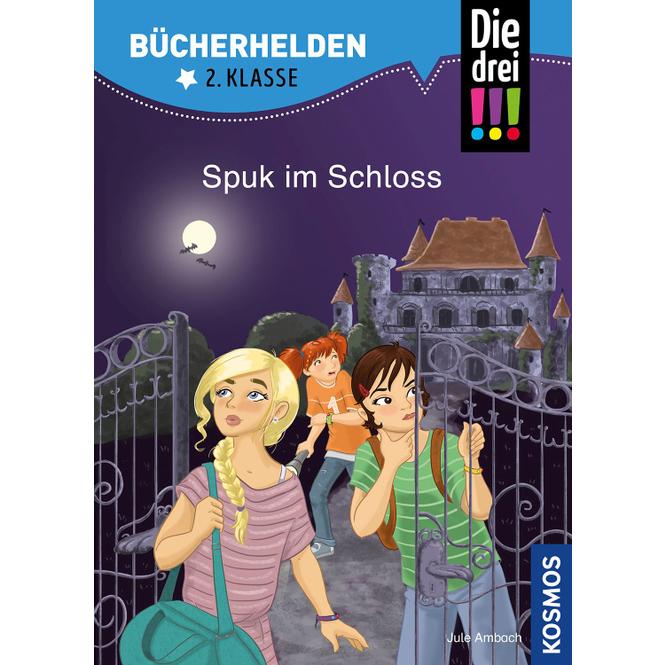 Die drei !!! - Bücherhelden 2. Klasse - Spuk im Schloss