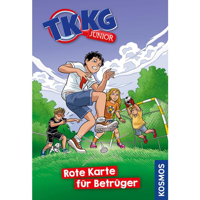 TKKG Junior - Rote Karte für Betrüger