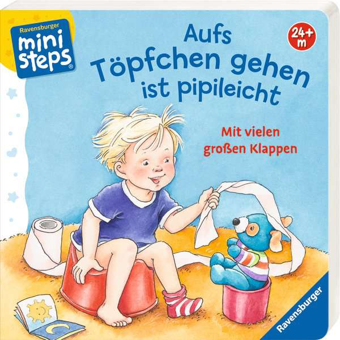 Ministeps - Aufs Töpfchen gehen ist pipileicht - Ravensburger