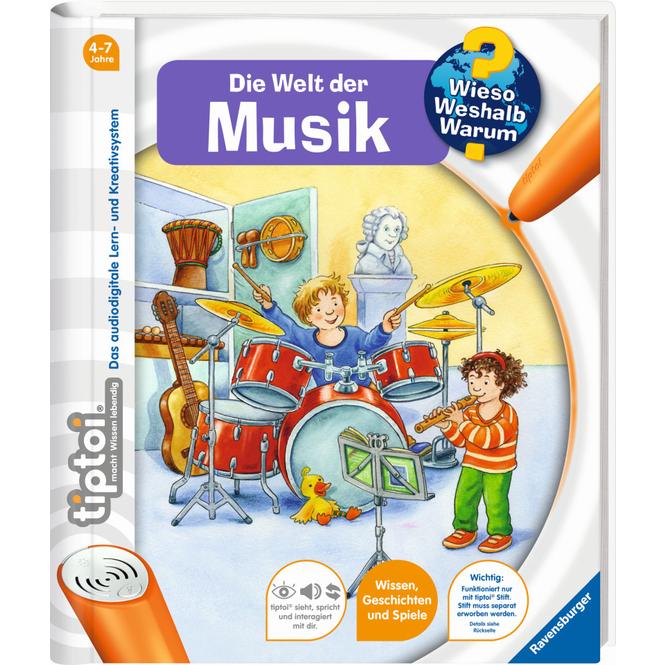 tiptoi® Buch  - Die Welt der Musik