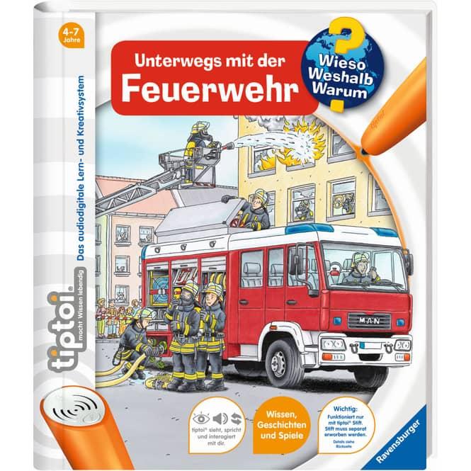 tiptoi® Buch - Unterwegs mit der Feuerwehr