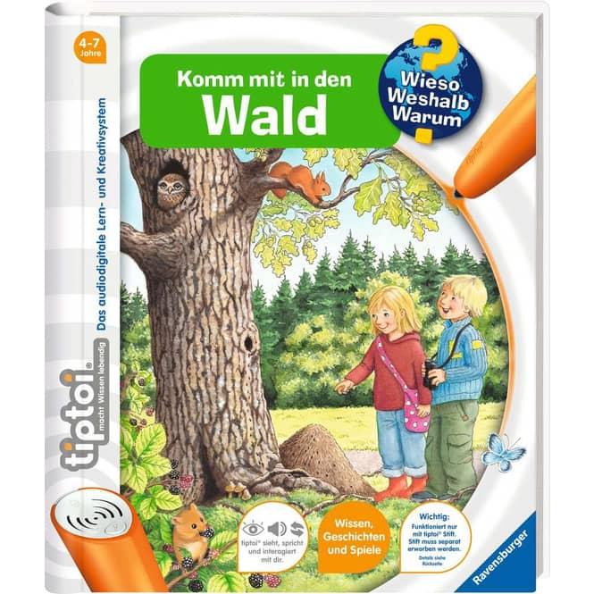 tiptoi® Buch - Komm mit in den Wald