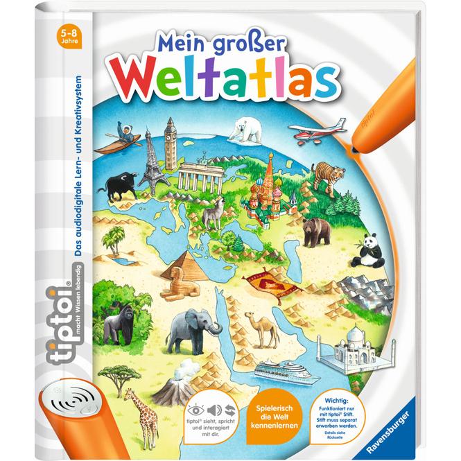 tiptoi® Buch - Mein großer Weltatlas