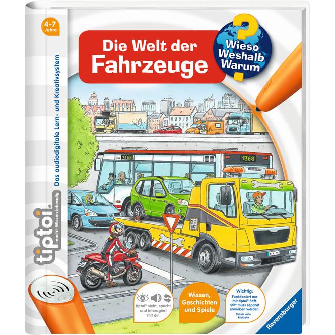 tiptoi® Buch - Die Welt der Fahrzeuge