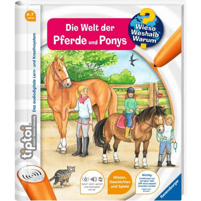 tiptoi® Buch - Die Welt der Pferde und Ponys
