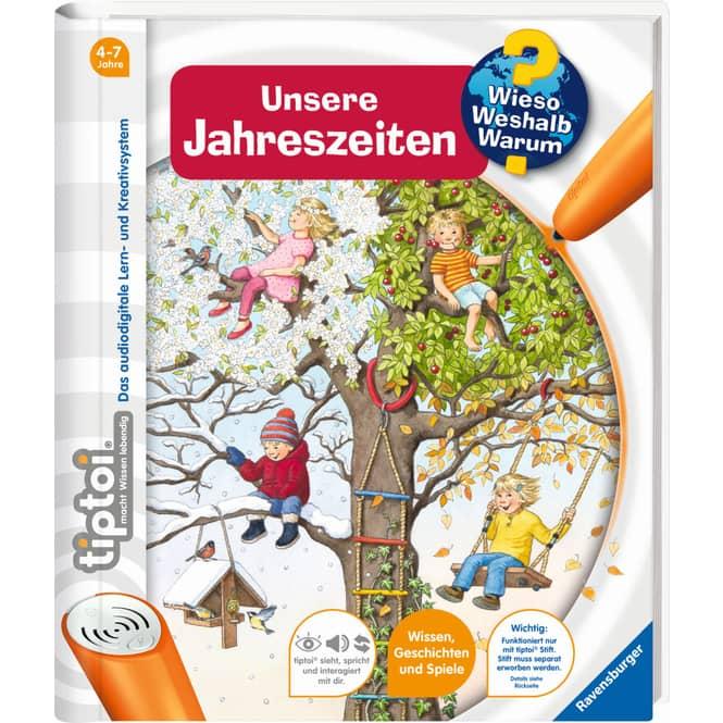 tiptoi® Buch - Unsere Jahreszeiten