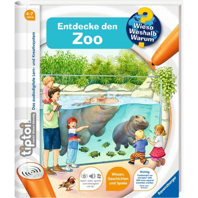 tiptoi® Buch - Entdecke den Zoo