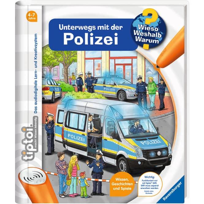 tiptoi® Buch - Unterwegs mit der Polizei