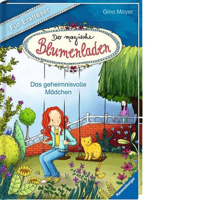 Der magische Blumenladen - Das geheimnisvolle Mädchen - für Erstleser