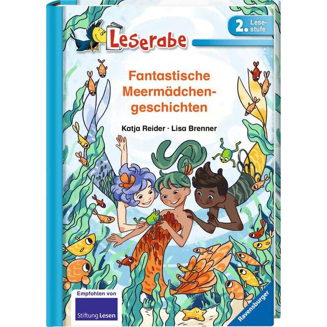Leserabe - Fantastische Meermädchengeschichten - 2. Lesestufe