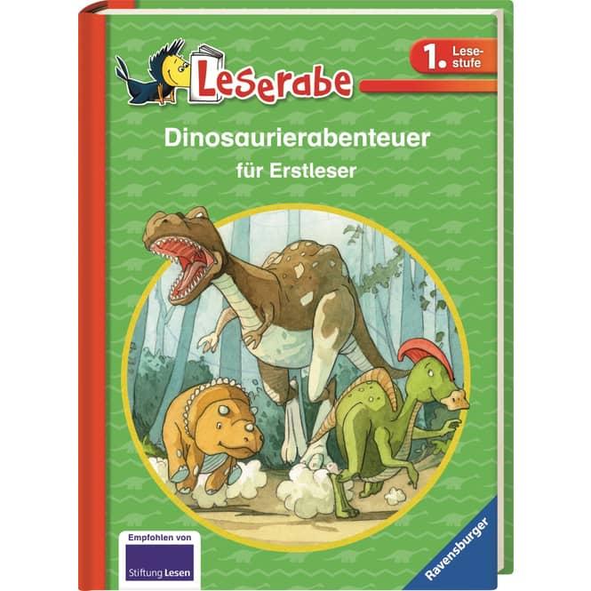 Leserabe - Dinosaurierabenteuer für Erstleser - 1. Lesestufe