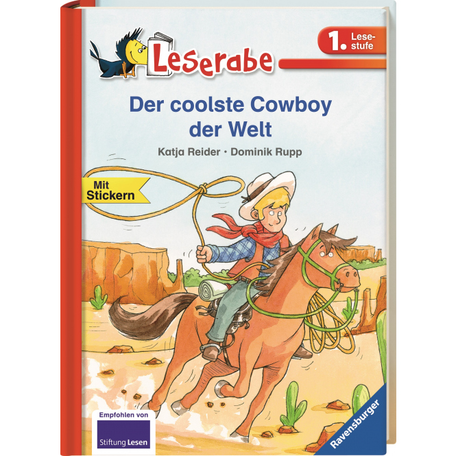 Der coolste Cowboy der Welt - Leserabe - 1. Lesestufe