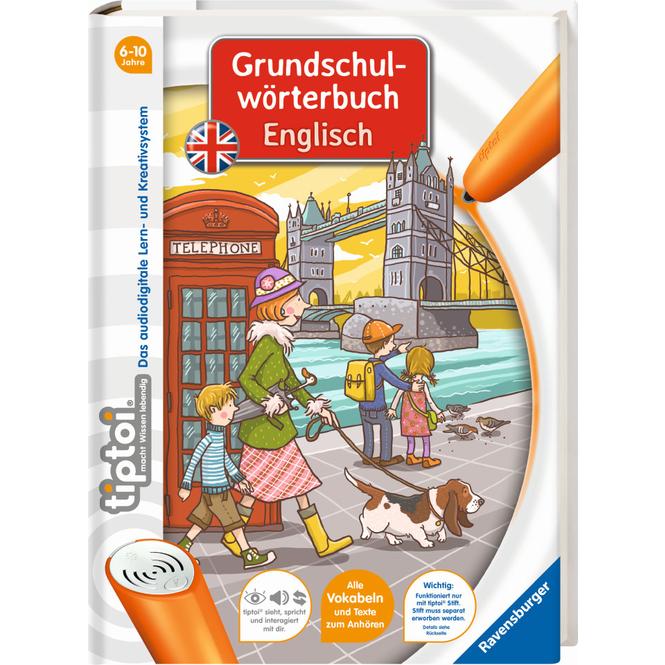 tiptoi® Buch - Grundschulwörterbuch Englisch