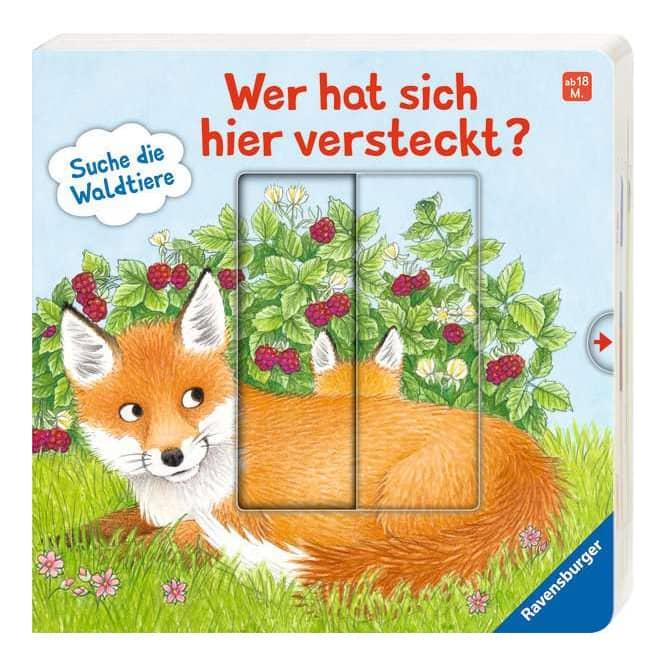 Wer hat sich hier versteckt? - Suche die Waldtiere - Ravensburger