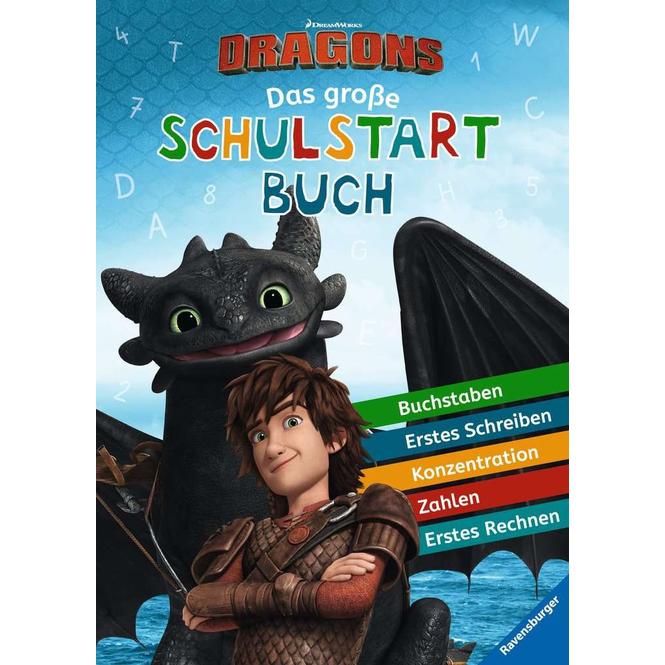 Dragons - Das große Schulstartbuch
