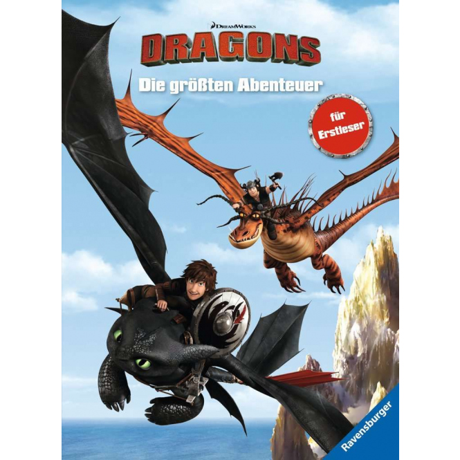 Dragons - Die größten Abenteuer - für Erstleser