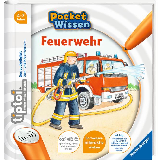 tiptoi® Buch - Pocket Wissen - Feuerwehr