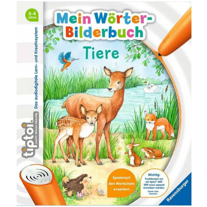 tiptoi®Mein Wörter-Bilderbuch - Tiere