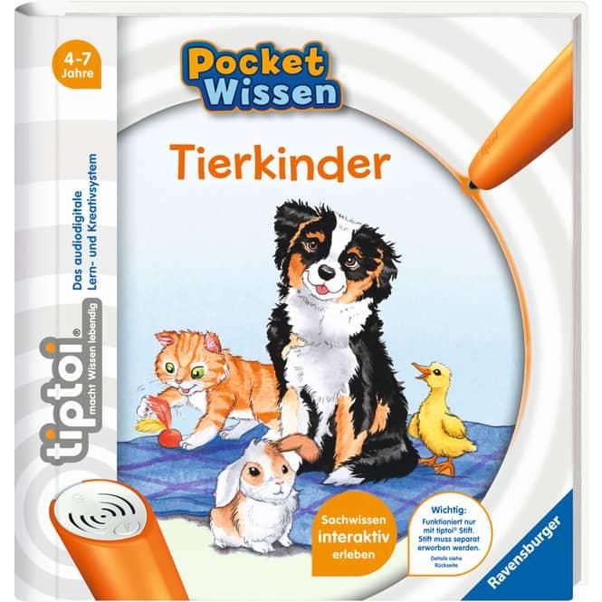 TipToi Buch - Pocket Wissen - Tierkinder