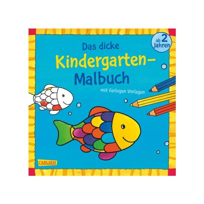 Das dicke Kindergarten- Malbuch ab 2 Jahren