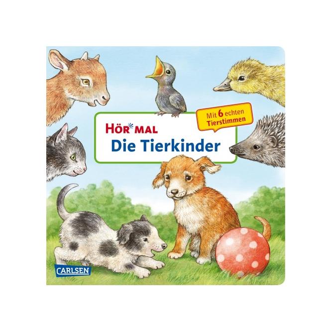 Hör mal - Die Tierkinder - Buch mit 6 echten Tierstimmen