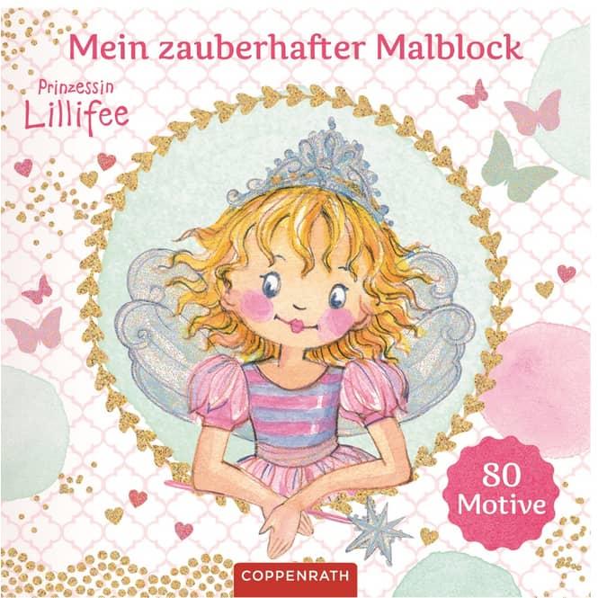 Mein zauberhafter Malblock - Prinzessin Lillifee