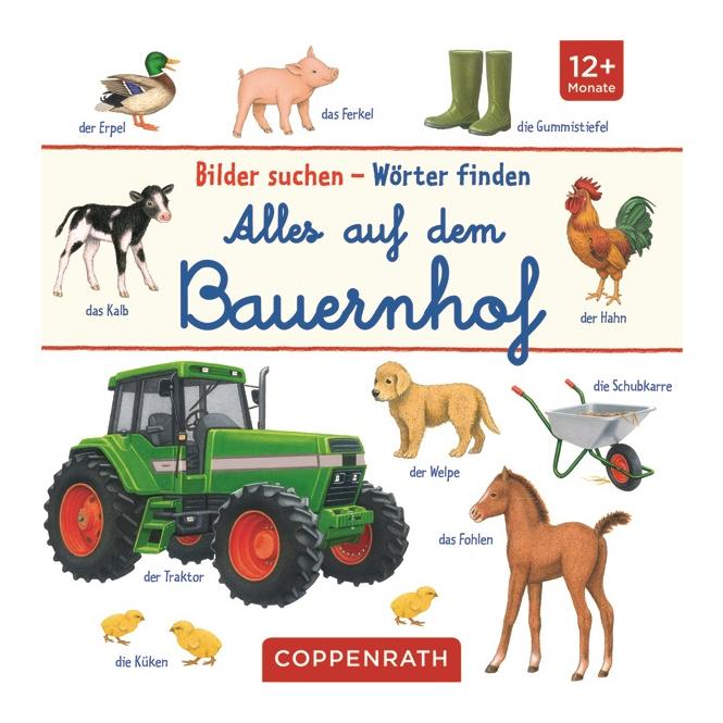 Bilder suchen - Wörter finden - Alles auf dem Bauernhof