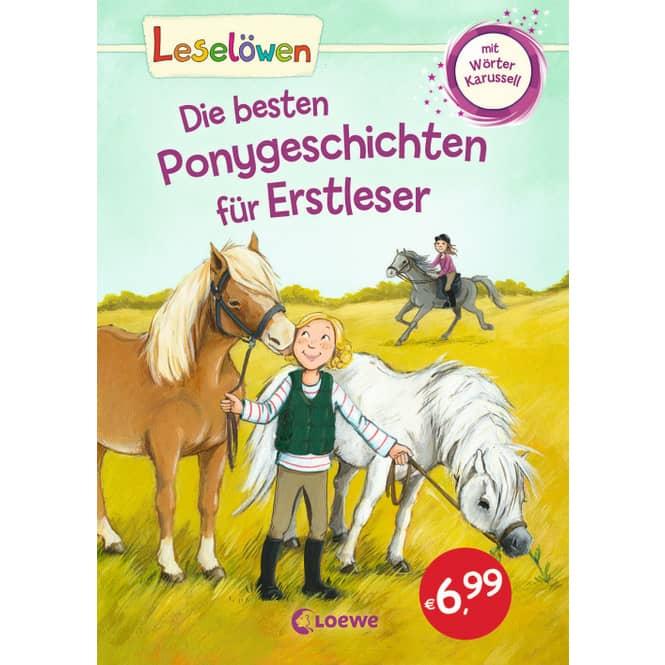Leselöwen - Die besten Ponygeschichten für Erstleser