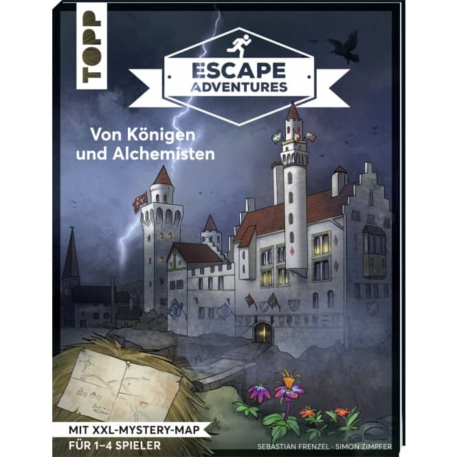 Buch - Escape Adventures - Von Königen und Alchemisten