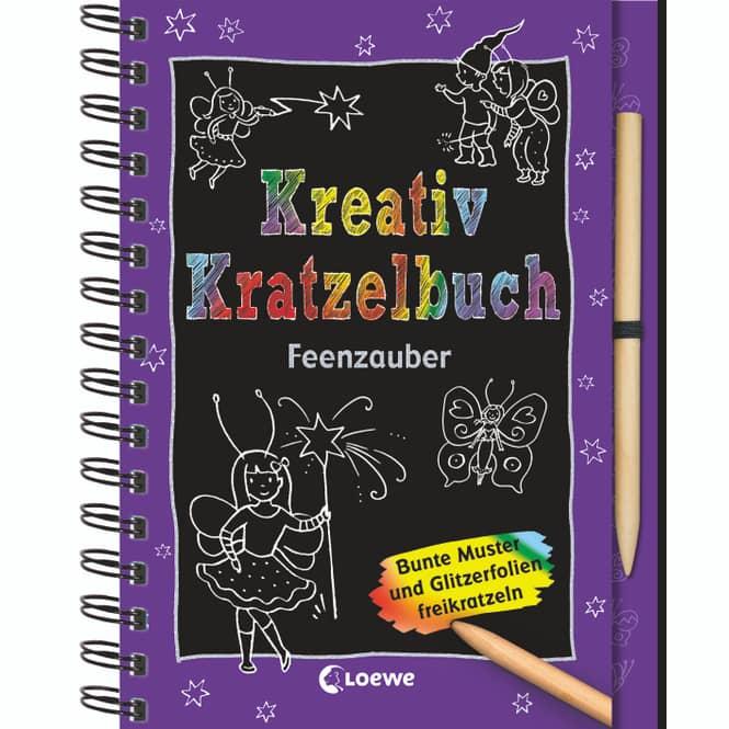 Kreativ Kratzelbuch Feenzauber - Loewe
