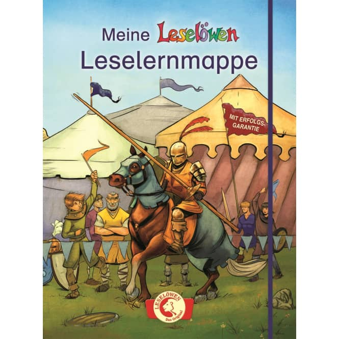 Leselöwen - Das Original - Meine Leselöwen-Leselernmappe - Ritter