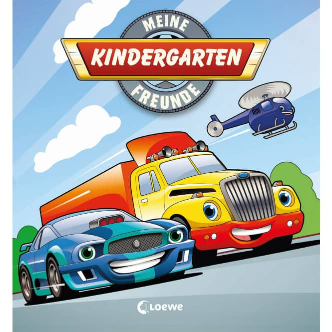 Meine Kindergarten Freunde - Fahrzeuge
