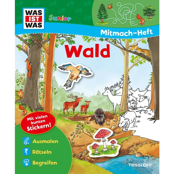 Was ist was Junior - Mitmach-Heft - Wald