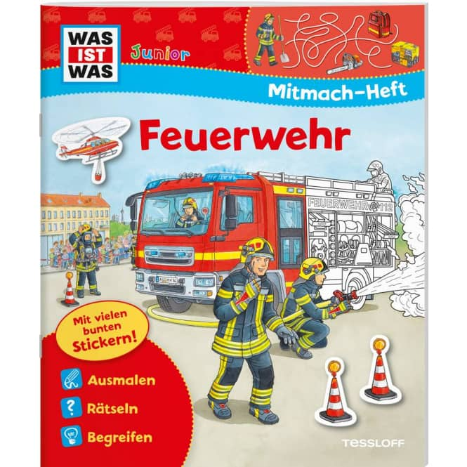 WAS IST WAS - Mitmach-Heft - Feuerwehr