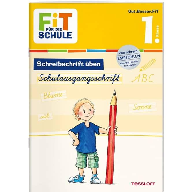 Schreibschrift üben - 1. Klasse - Fit für die Schule