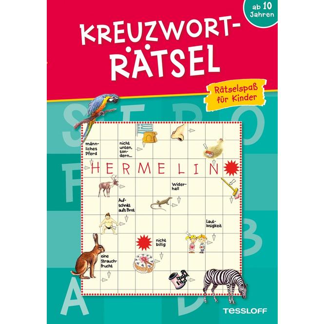 Kreuzworträtsel - Rätselspaß für Kinder