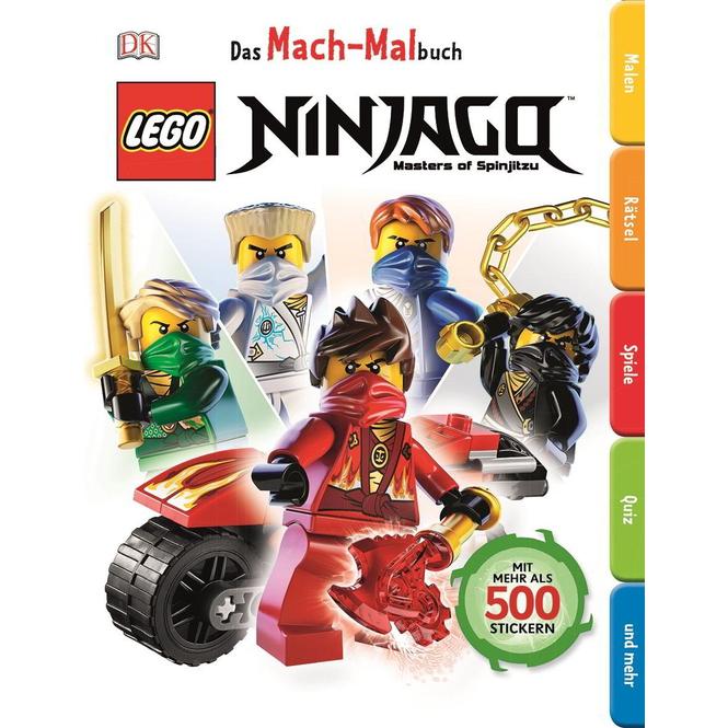 LEGO® Ninjago - Das MachMalBuch