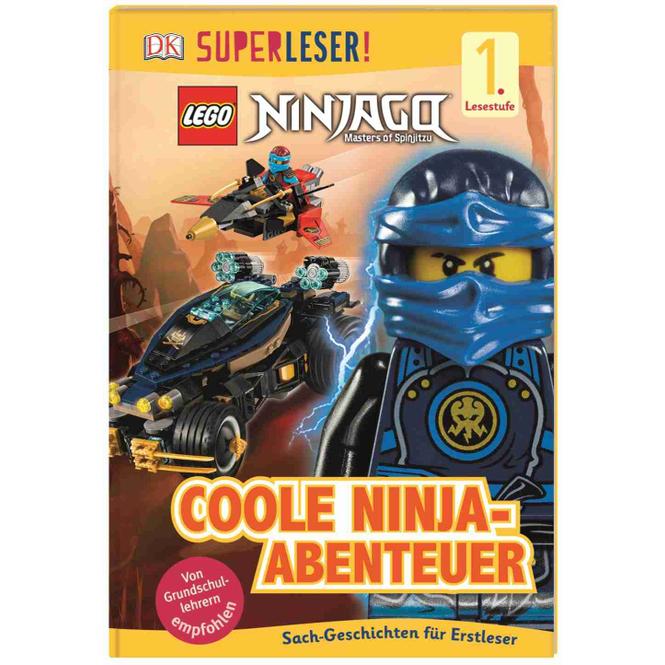 LEGO® Ninjago - Coole Ninja-Abenteuer - Superleser - Lesestufe 1